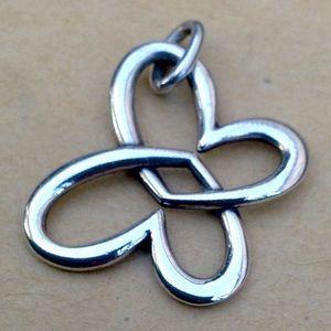 🦋 Linked Heart Butterfly pendant 🦋
